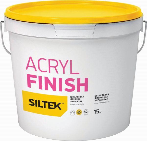 Siltek Acryl Finish Шпаклівка фінішна акрилова (15 кг)